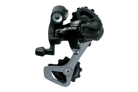 Cambio Carretera Shimano 105 5701 10v. Triple Negro - Cambio trasero compatible con 10 velocidades. Resistente en cualquier condición. Diseño de enlace ancho para reducir la desviación del cambio. Aumenta la rigidez. Cambio de velocidades preciso durante una prolongada vida útil. Capacidad total: 32D (Máximo)