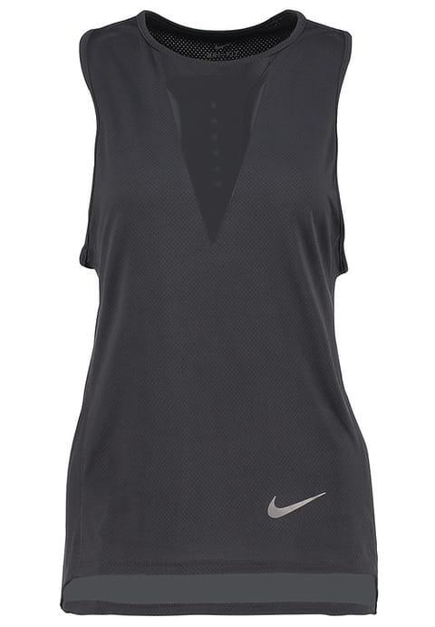 Camiseta deporte antracita - Camiseta fitness muy ligera de rejilla