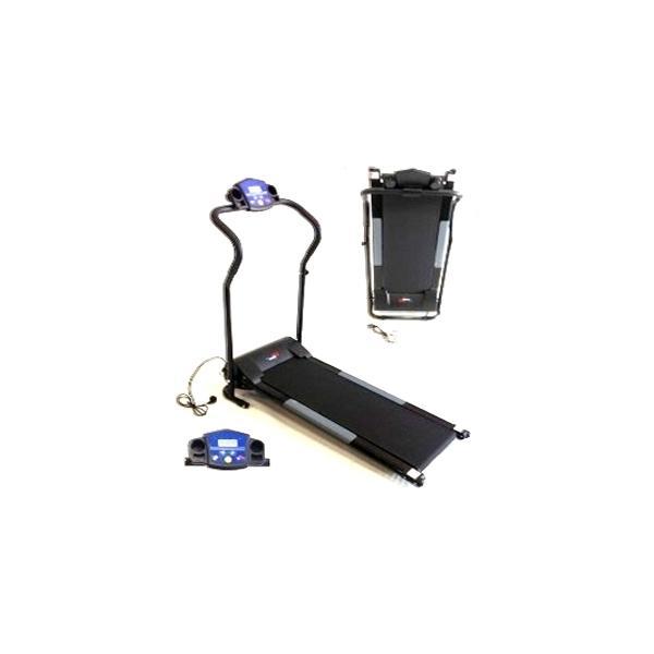 Cinta de correr FH750 - La cinta de correr FH750 Motorizada Plegable con motor de 750W posee una cinta de carrera de 1125 x 61,25 cm y alcanza velocidades de 10 Km/h regulables desde la consola de forma rápida y simple. Es Ideal para practicar deporte en casa por su tamaño compacto, su solidez y su seguridad.